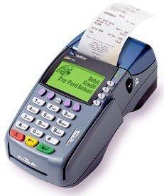 Máquina de cartão POS sem fio móvel