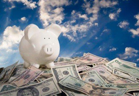 A disciplina de poupar dinheiro