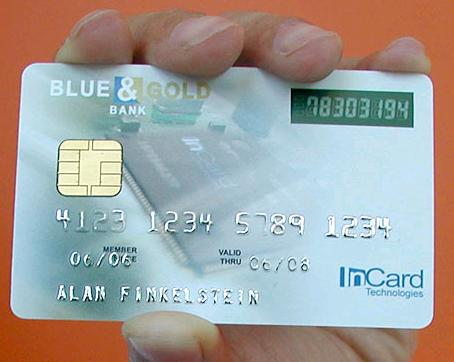 Cartão de crédito e a senha