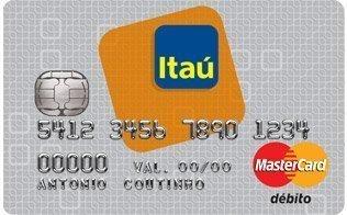 Desbloqueio cartão Itaú