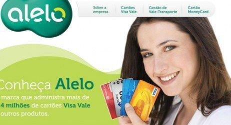 Cartões de benefício da Alelo