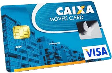 Móveis Card para Mobiliar casa