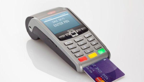 credicard machine