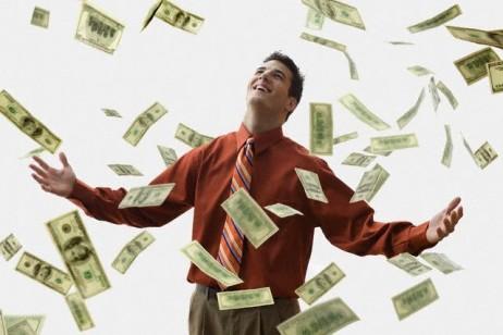 Alegria financeira